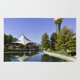 Sunsphere in the Fall Rug