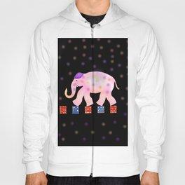elephant and sky . Hoody