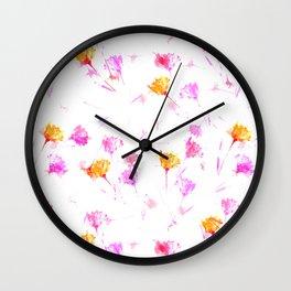 Breezy Fowers Wall Clock