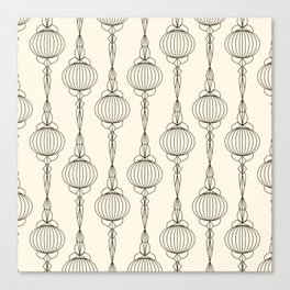 Art Deco No. 50 . Christmas decorations . Canvas Print