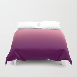 Rose Gradient Duvet Cover