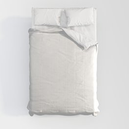 White Minimalist Solid Color Block Spring Summer Comforters