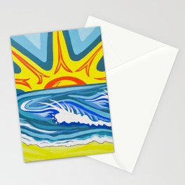 Surfers Summer Days Stationery Cards