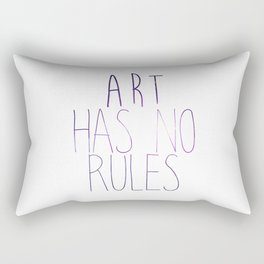 ART Rules2 Rectangular Pillow