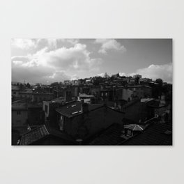 roofs Canvas Print