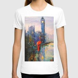 Rain in London T-shirt
