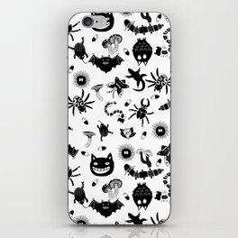 Ghibli creatures iPhone Skin