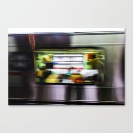 Blur Of Time Canvas Print