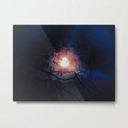 Magickal Moon Rays Metal Print