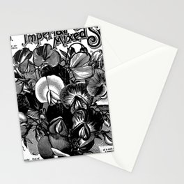 Imperial Mixed Sweet Peas Stationery Cards