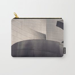 Architectural abstract, Black and White, LA Philharmonic, Architect: Frank Gehry Carry-All Pouch
