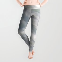 TEXTURES: Laguna Beach Sea Foam #2 Leggings
