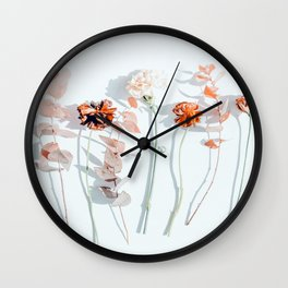 Minima #phoography #floral Wall Clock