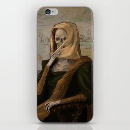 Death like Smile iPhone Skin