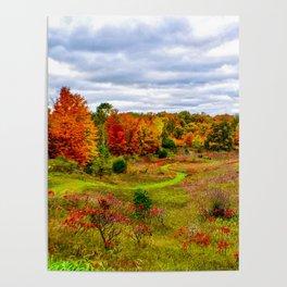 """Autumn Valley"" Poster"