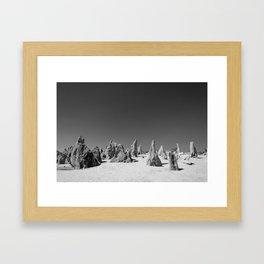 The Pinnacles - Nambung National Park Framed Art Print