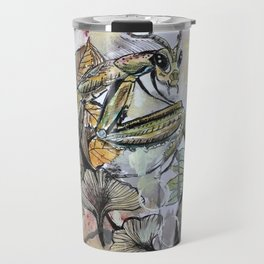Peace, mantis Travel Mug