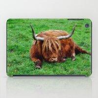 buffalo iPad Cases featuring buffalo by  Agostino Lo Coco