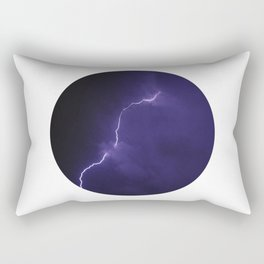 Planetary Bodies - Lightning Rectangular Pillow