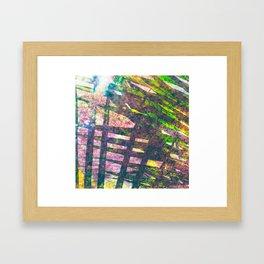 Palm Water Framed Art Print
