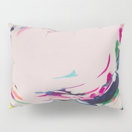 This Electric - Abstract Painting by Jen Sievers #society6 Pillow Sham