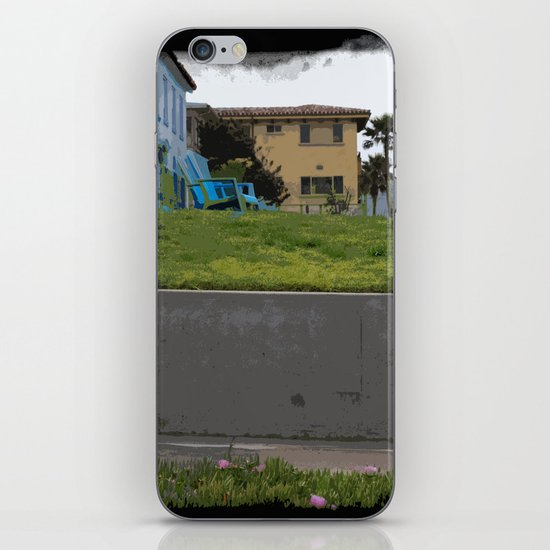 House on The Esplanade iPhone & iPod Skin