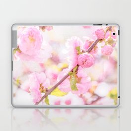 Pink sakura flowers - Japanese cherry blossom Laptop & iPad Skin