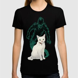 Mogget (green) T-shirt