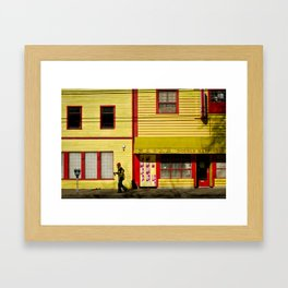 Eastside Framed Art Print