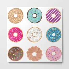 Donuts Galore Metal Print