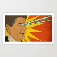 Ronald Raygun Art Print