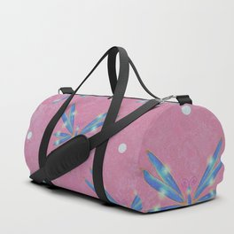 Abstract Dragon Flies Duffle Bag