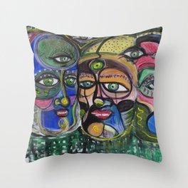 3 rois Throw Pillow