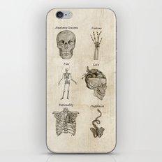Anatomy lessons iPhone & iPod Skin