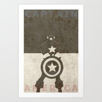 america Art Prints featuring America by Christophe Chiozzi