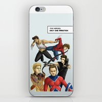 1d iPhone & iPod Skins featuring 1D superheroes by Aki-anyway