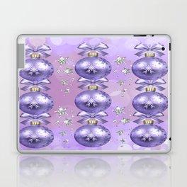 The Joy of Christmas - Purple Laptop & iPad Skin