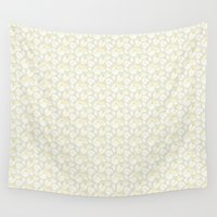 magnolia Wall Tapestries featuring Magnolia by Mayacoa