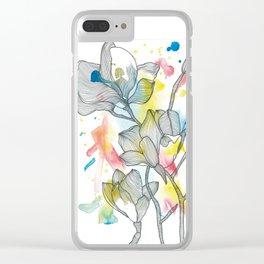Flowe n°2 Clear iPhone Case