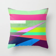 Color Field Throw Pillow