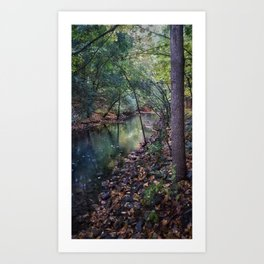 Surreal Forest Art Print