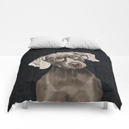 Mr Weimaraner Comforters