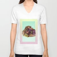 mineral V-neck T-shirts featuring Mineral Love by Danny Ivan
