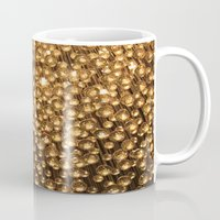 chandelier Mugs featuring Chandelier  by Emily Joie de Vivre