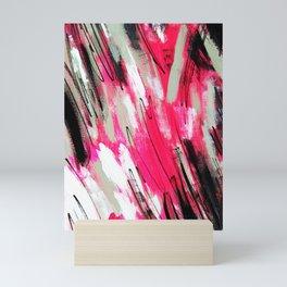 Pink Abstract Mini Art Print