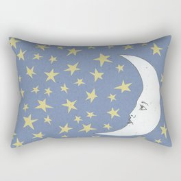 To the Mooon to the Starrs Rectangular Pillow
