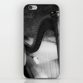 The harp waiting to be played iPhone Skin