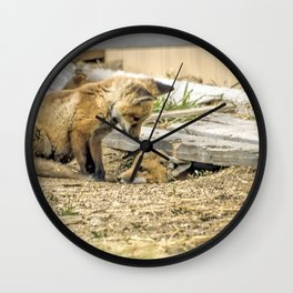 Come Out And Play Wall Clock