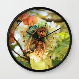 FAIRY Toothfairy in my Garden Wall Clock