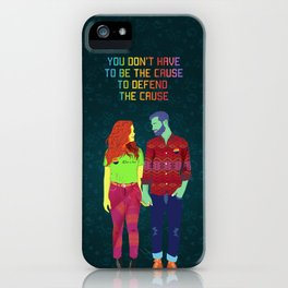 You don't have to be the cause iPhone Case